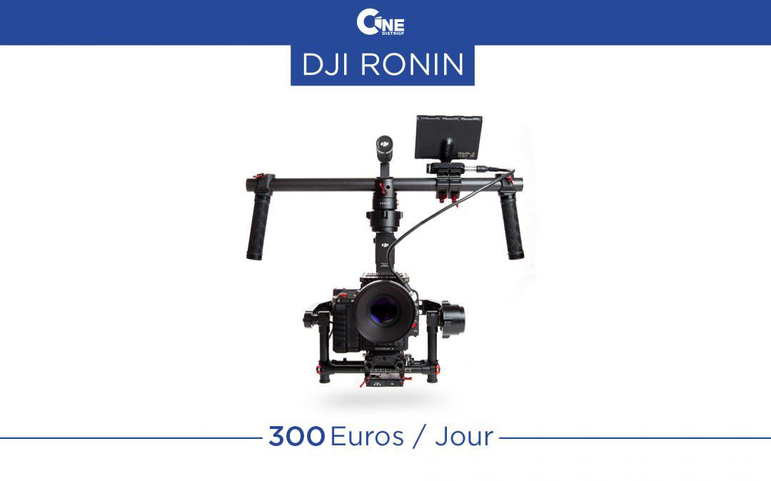 Opérateur DJI Ronin